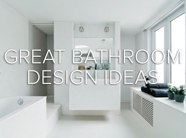 bathroom design ideas from @domino magazine