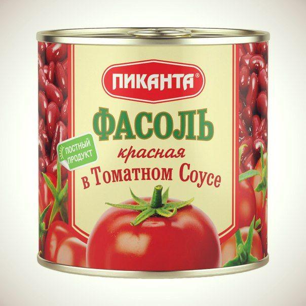 Салат с красной фасолью в томатном соусе рецепт