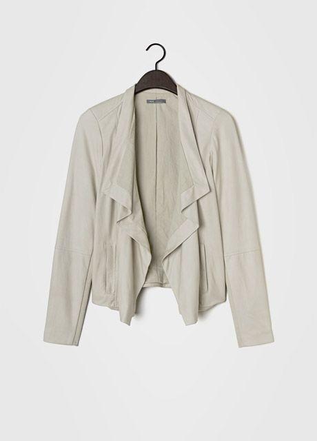 Vince-paper-leather-drape-neck-jacket-mobile-wallpaper