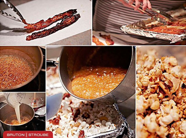 Bacon Popcorn | Popcorn Poppin On The Apricot Tree | Pinterest