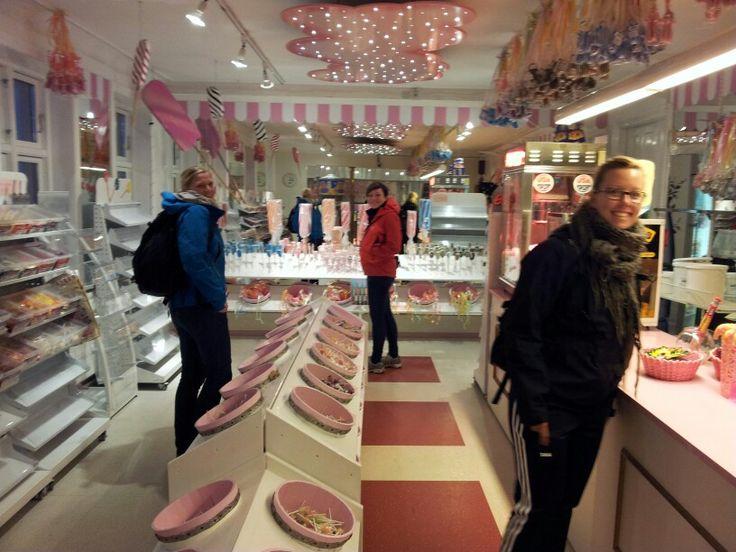 i lange baner Bornholm