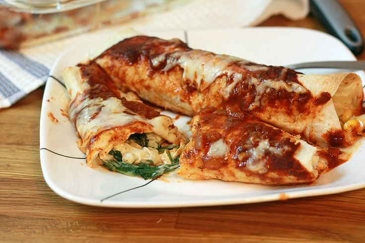 ... : Chicken & Spinach Enchiladas Making this TONIGHT with black beans