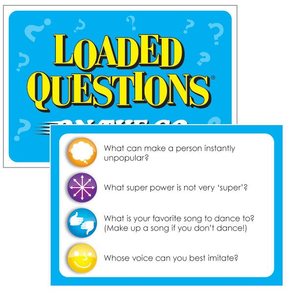Questions adults board game loaded