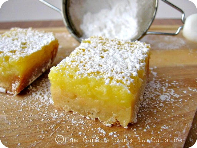 Whole Lemon Bars | pastry♥cakes♥cookies♥bars | Pinterest