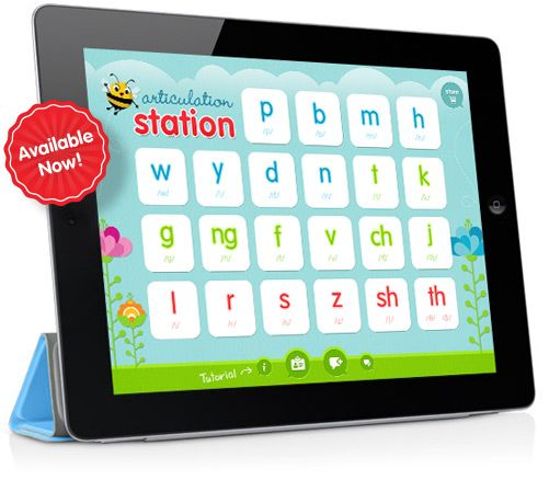 Articulation Station is on the App Store!  - Pinned by @PediaStaff – Please visit ht.ly/63sNt for all (hundreds of) our pediatric therapy pins