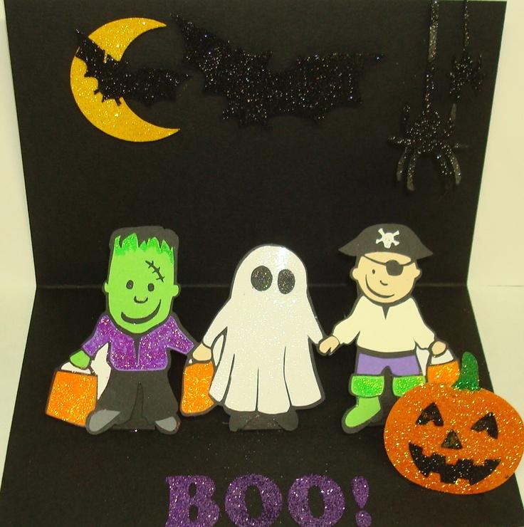 Childs halloween pop up | Halloween Cards | Pinterest: pinterest.com/pin/183943966003634935