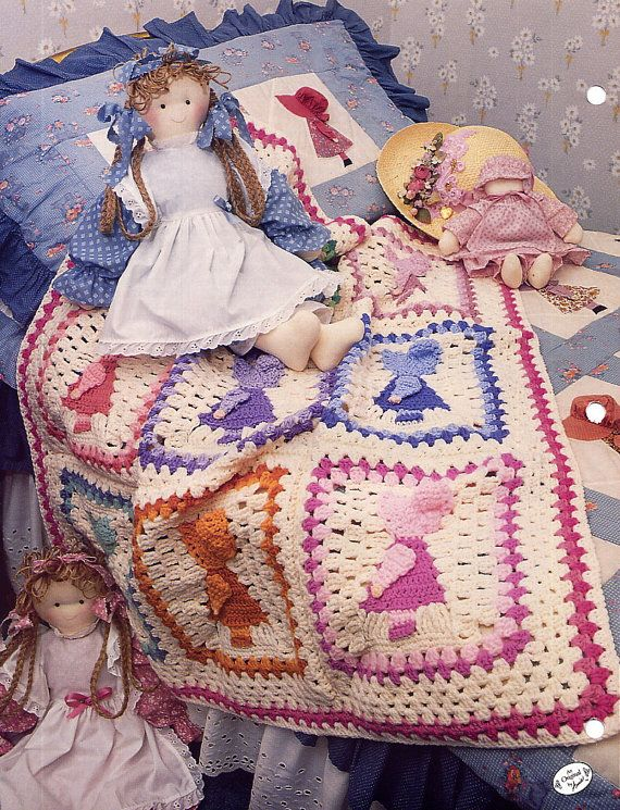 Annies Attic Patterns : ... Sue Crochet Afghan Pattern - Annies Attic Crochet Quilt & Afghan Club