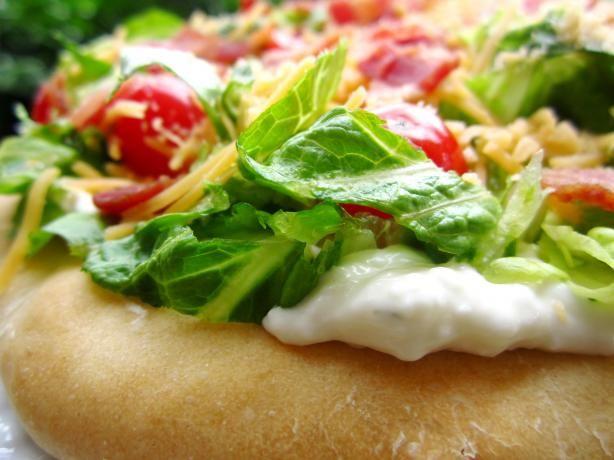 BLT Ranch Salad Pizza - Pampered Chef | Recipe