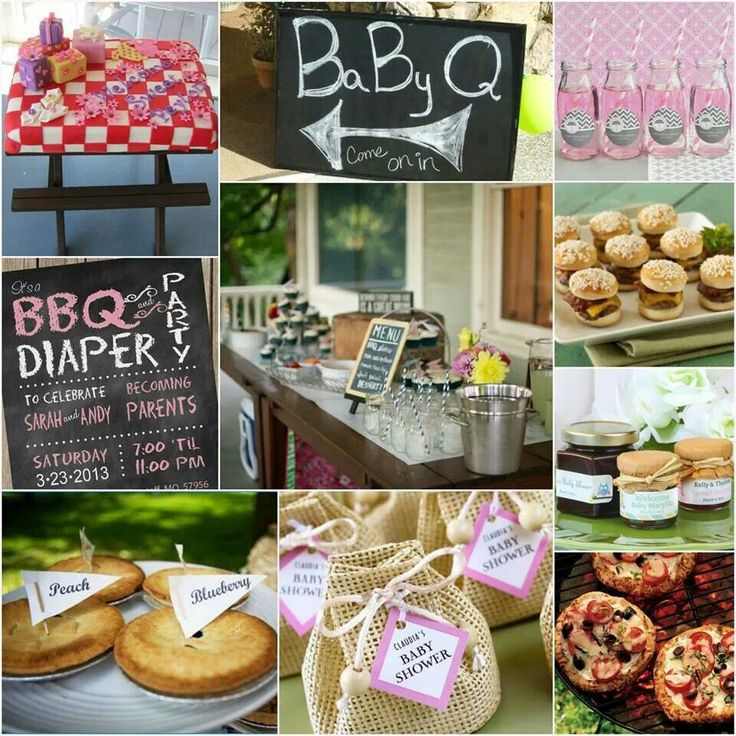 baby bbq shower celebrate pinterest
