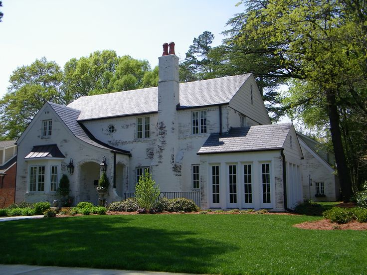 white washed brick home con 39 t dream houses cottages pinterest. Black Bedroom Furniture Sets. Home Design Ideas