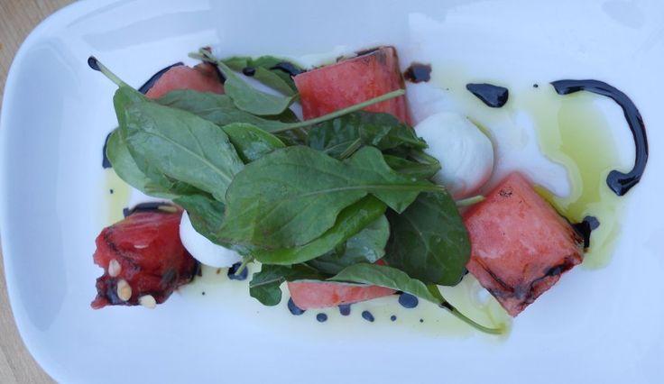 Grilled Watermelon Salad | Food Republic | Recipes | Pinterest
