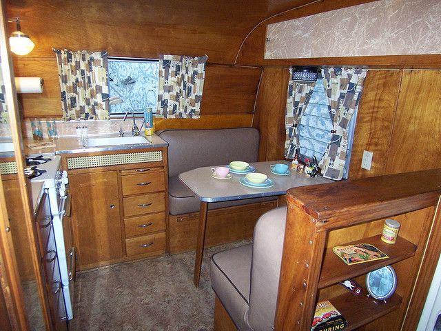Vintage Travel Trailer Interiors Photo Travel Trailers