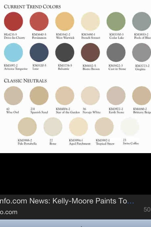 Kelly Moore Paint Chips Home Sweet Home Pinterest