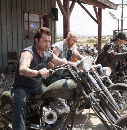 John travolta motorcyle movie