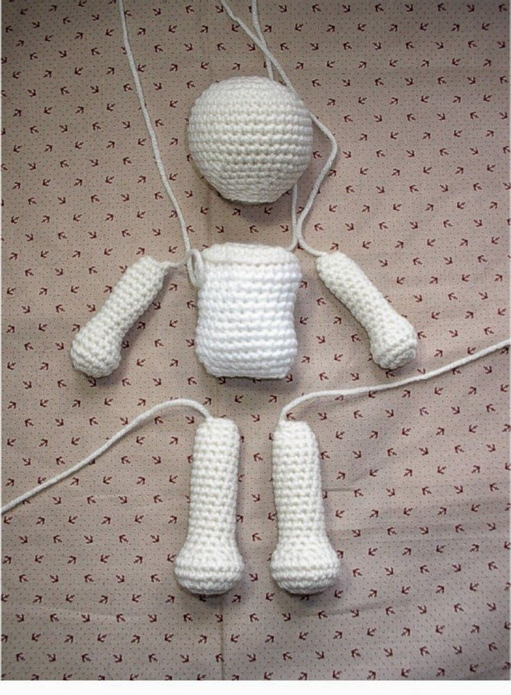 basic amigurumi doll pattern amigurumi Pinterest