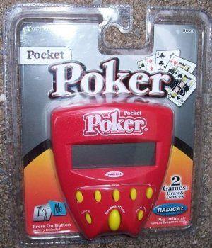 mattel pocket poker by radica