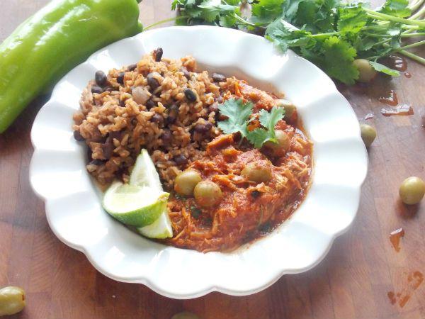 Chicken Ropa Vieja Recipe — Dishmaps