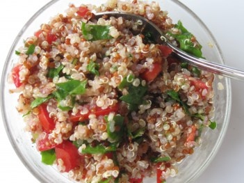Simple Quinoa Salad | Healthy Recipies | Pinterest