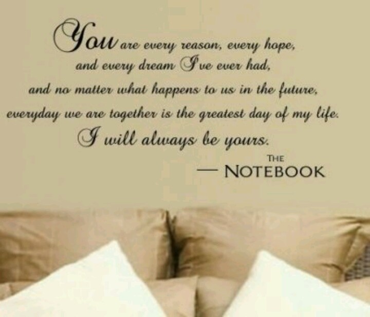 Cute Wedding Vows: These Would Be Cute Vows! #thenotebook