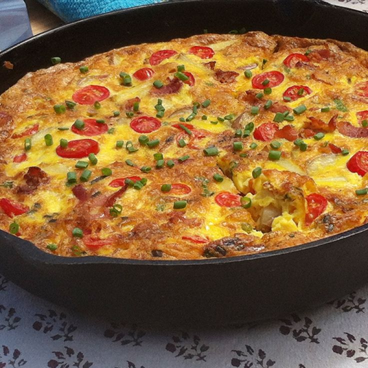 This Spanish potato omelette recipe is the perfect meal for Sunday ...