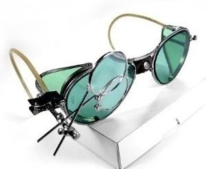 Steampunk goggle glasses