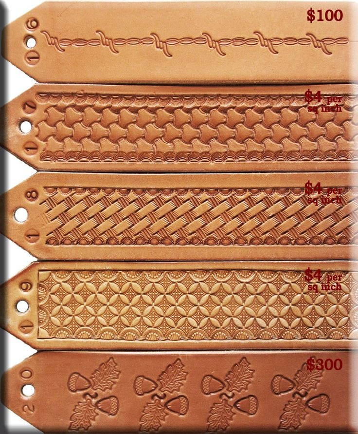 Tooling Patterns Leather Up Your Britches Pinterest