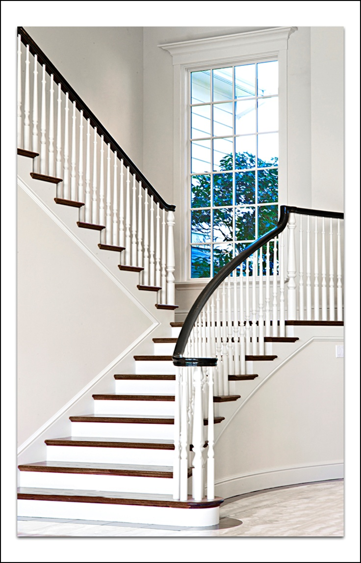 Elegant staircase home ideas pinterest for Elegant stairs design