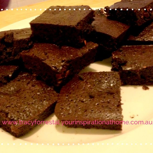 Chocolate Raspberry Truffle brownies | Yummy treats! | Pinterest
