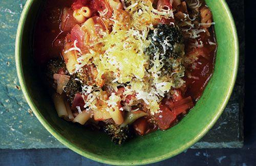 Broccoli and pasta soup | Food & Recipes | Pinterest