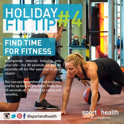 Take your workouts to the next level (and save loads of time) with interval training!