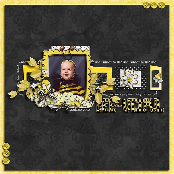 Queen Bee By Faith True template by busy beeQueen Bee Template