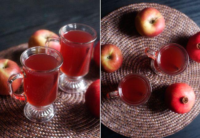 Spiced Pomegranate Apple Cider + Recipe #fallrecipe #apple # ...