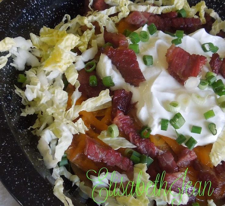 Irish Nachos With Guacamole Recipe — Dishmaps