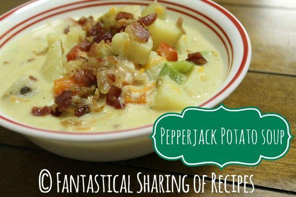 Pepperjack Potato Soup - adding a kick to potato soup for all those ...