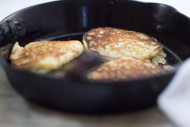 Rice and Sesame Pancakes from 101 Cookbooks. -CAB