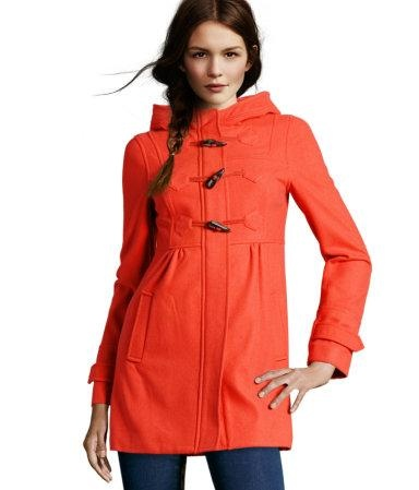 Flared Fall Jacket - i love this color!