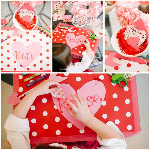 valentine day kid crafts