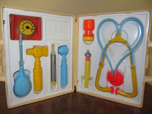 Fisher Price Medical Kit- Loved to play with this!