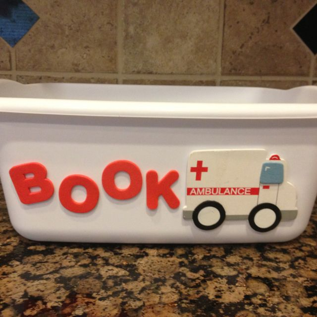 Book ambulance :)  I like this one!