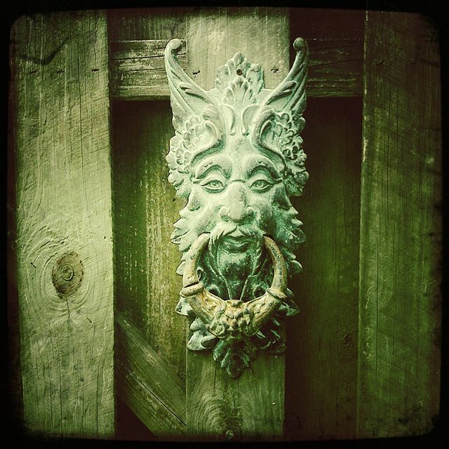 I want a door knocker awesome door knobs and door knockers pi - Greenman door knocker ...