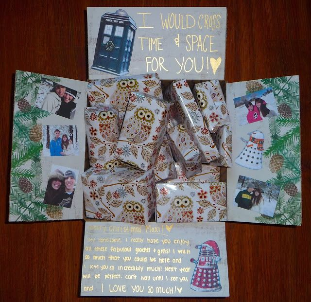 Different Is Awesome Holiday Package: Dr. Who Christmas Care Package!