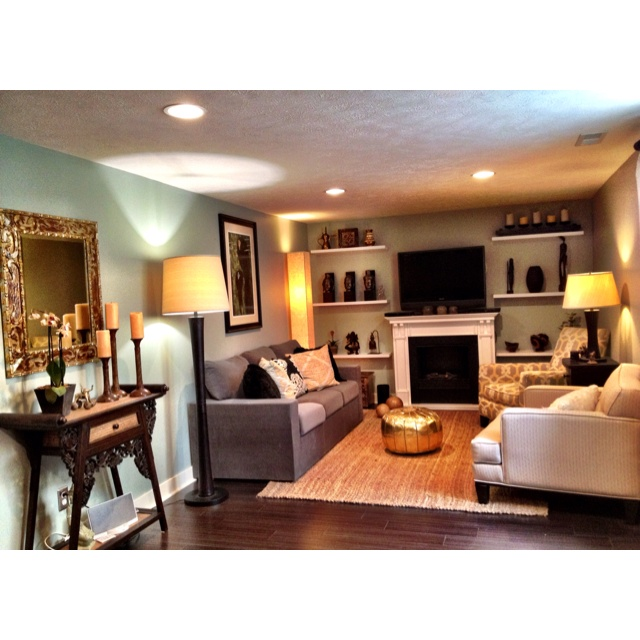 Basement Family Room : Basement family room  The endless renovation  Pinterest