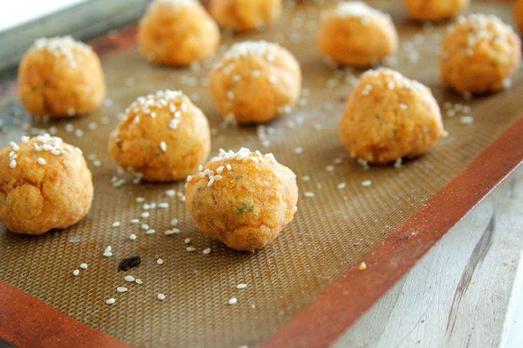 Baked Sweet Potato Falafels | Food | Pinterest