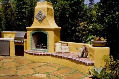 Mexican Style Outdoor Kitchen Cultura Pinterest