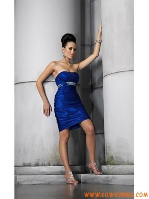 Prom Dress Websites on Short Beaded Waist Ruched Sheath Homecoming Dress