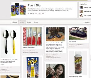 Plasti Dip on Pinterest!