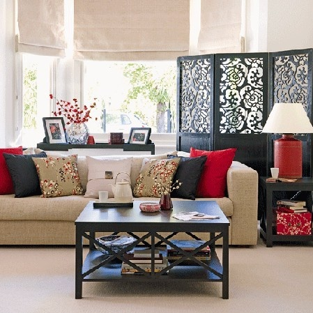 Asian inspired living room apartment living pinterest for Inspiration rooms living room