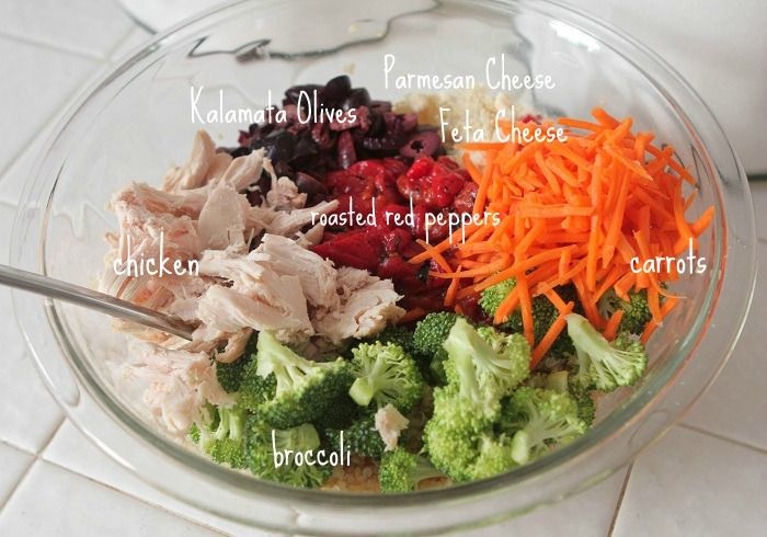 Roasted Chicken Quinoa Salad 3