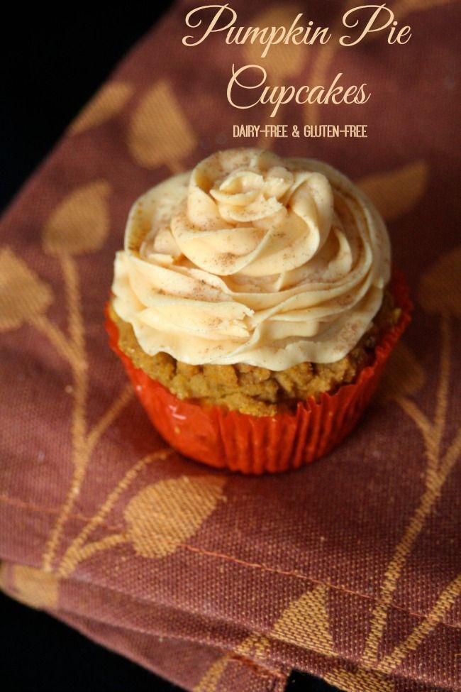 Gluten-Free Pumpkin Pie Cupcakes. | Cupcakes | Pinterest