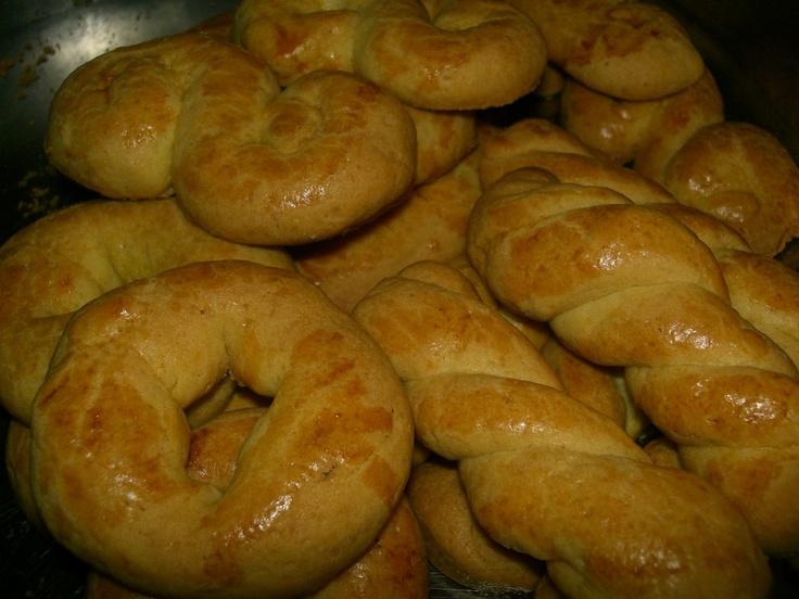 Greek Easter Biscuits. | EASTER | Pinterest